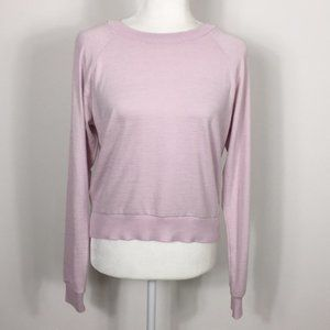 Tna | Aritzia Light Purple Pullover Sweater